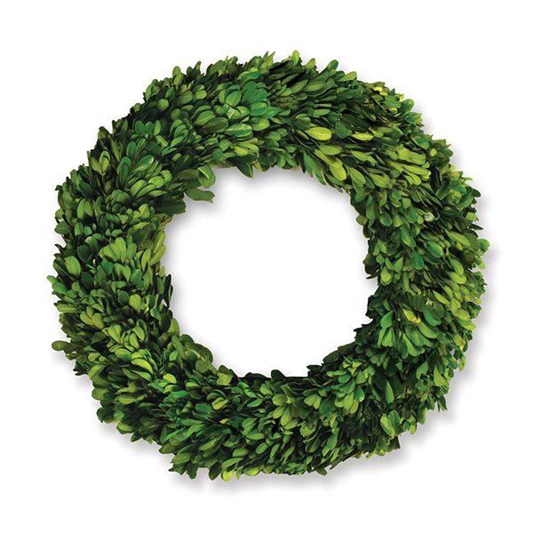 boxwood double faced christmas wreath jacksonville beach florida