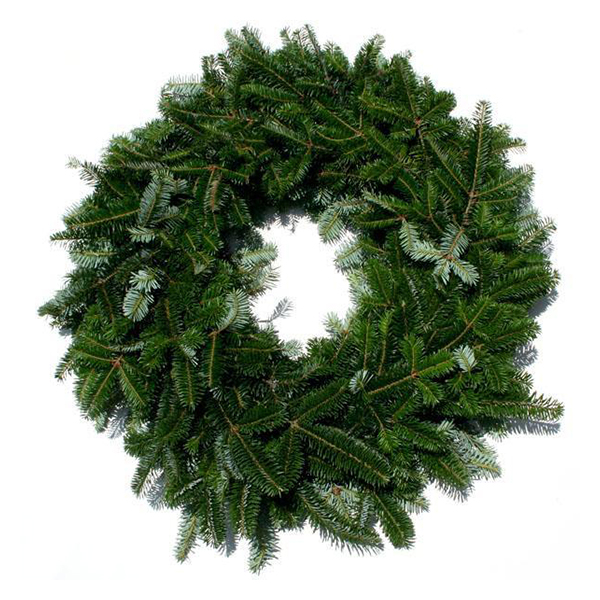 Fraser Fir double faced wreath jacksonville beach fl