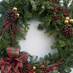 real christmas wreaths jacksonville